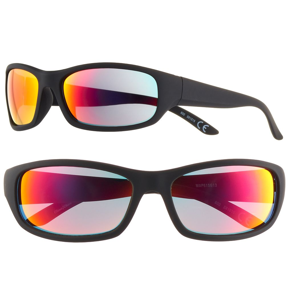 Men's Apt. 9® Polarized Wrap Sunglasses