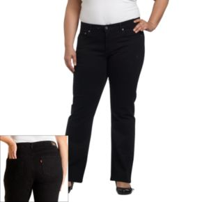 Plus Size Levi's® 512? Perfectly Shaping Bootcut Jeans