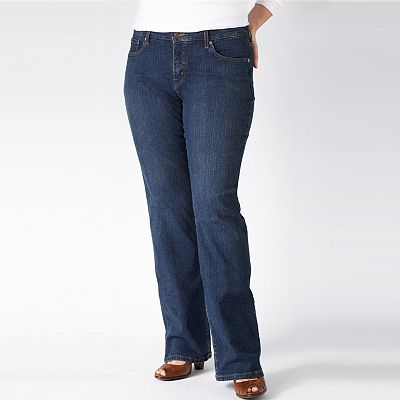 Levi's 512 Perfectly Slimming Bootcut Jeans - Women's Plus