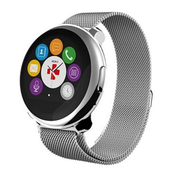 MyKronoz ZeRound Premium Smartwatch with Milanese Band
