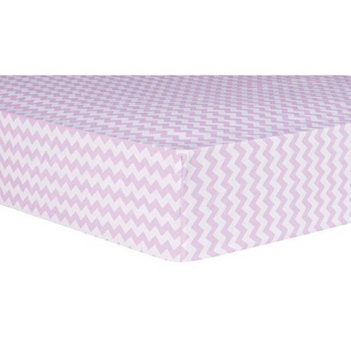 Waverly Baby by Trend Lab Orchid Patterned Crib Sheet