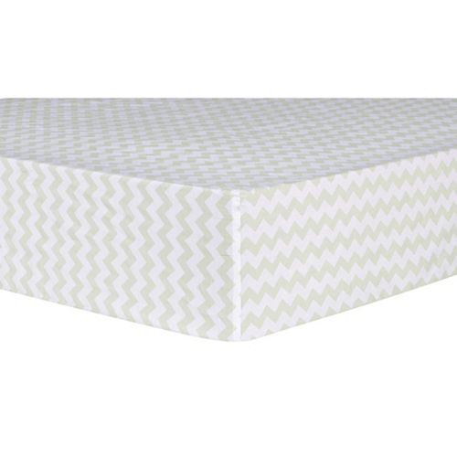 Waverly Baby by Trend Lab Seafoam Patterned Crib Sheet