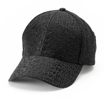 Women's SO® Allover Subtle Lace Baseball Cap