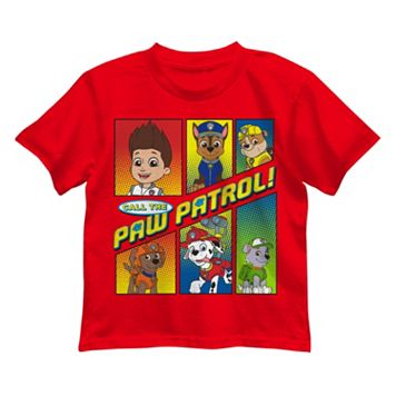 Boys 4-7 Paw Patrol Ryder, Chase & Rubble Graphic Tee