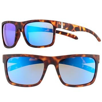 Men's Apt. 9® Polarized Tortoise Wrap Sunglasses