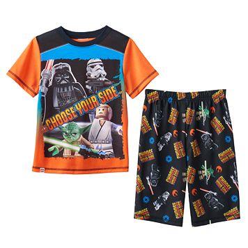 Boys 4-12 Lego Star Wars 2-Piece Pajama Set