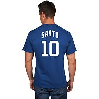 Men's Majestic Chicago Cubs Ron Santo Cooperstown Tee