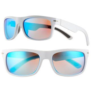 Men's Apt. 9® Polarized White Wrap Sunglasses
