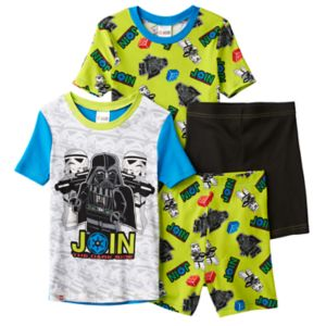 Boys 4-12 Lego Star Wars 4-Piece Pajama Set
