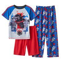 Boys 4-12 Lego Star Wars Dark Side 2-Piece Pajama Set