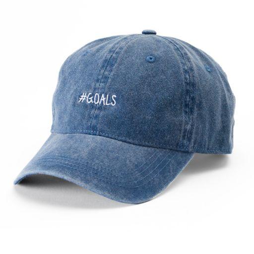 "Women's SO® ""#GOALS"" Baseball Cap"