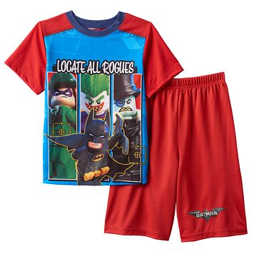 Boys 4-12 The LEGO Batman Movie Pajama Set
