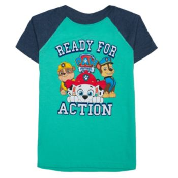"Boys 4-7 Paw Patrol Marshall, Chase & Rubble ""Ready for Action"" Graphic Tee"