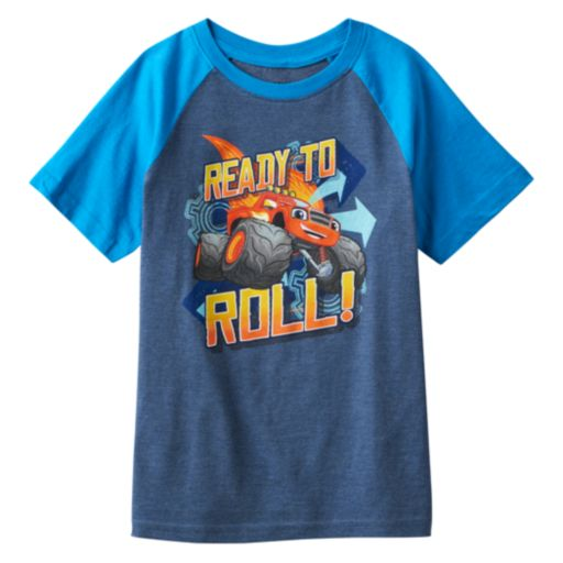 """Boys 4-7 Blaze and the Monster Machines """"Ready To Roll!"""" Graphic Tee"""