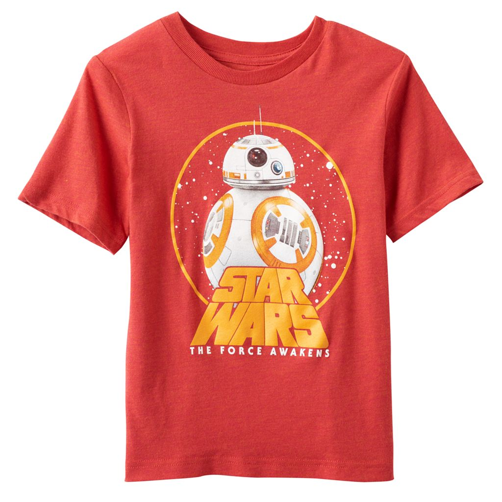 Boys 4-7 Star Wars The Force Awakens BB-8 Graphic Tee