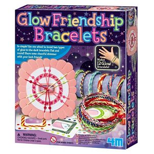 4M Make-Your-Own Glow Friendship Bracelets