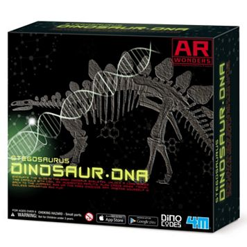 4M Stegosaurus Dinosaur DNA Skeleton Science Kit