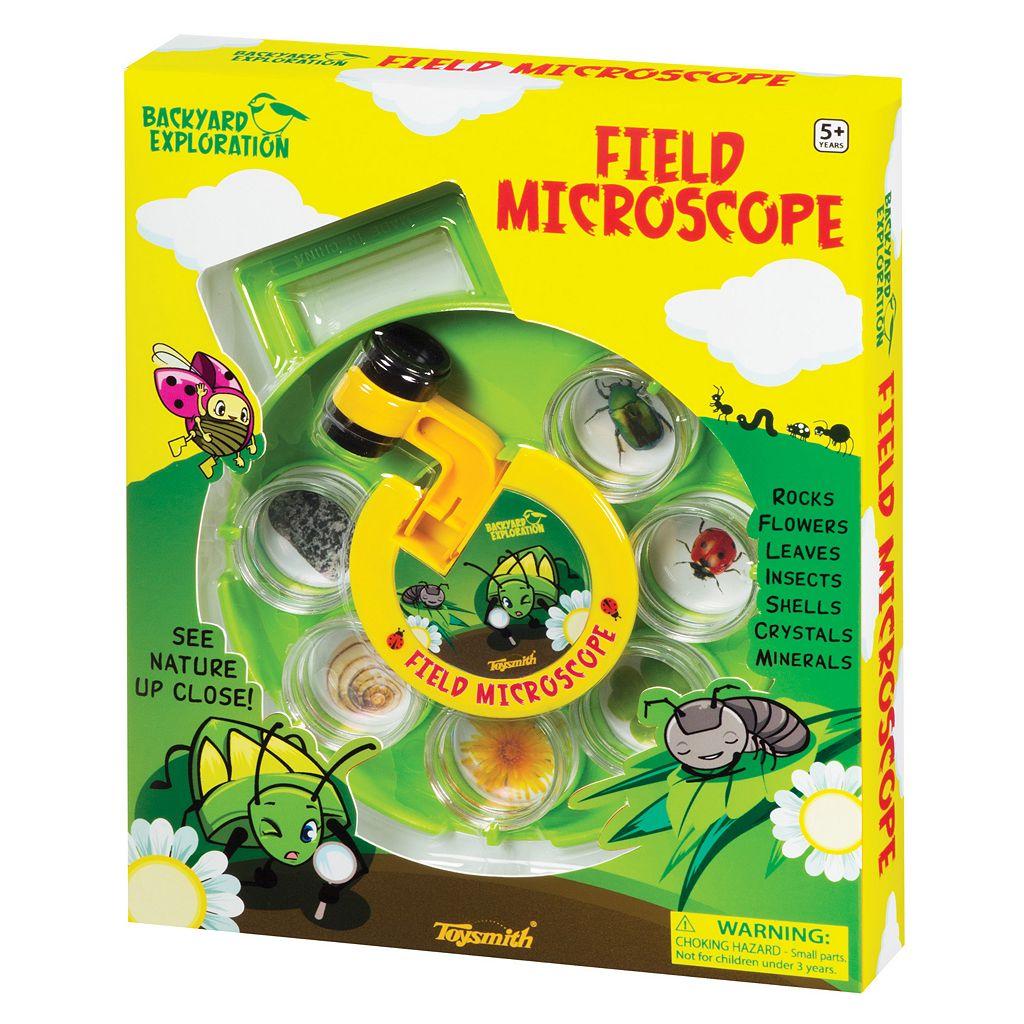 Toysmith Backyard Exploration Field Microscope Set