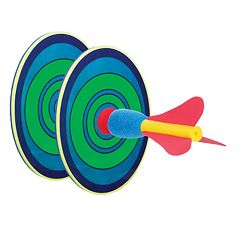 Toysmith Toss & Stick Outdoor Dart Toy
