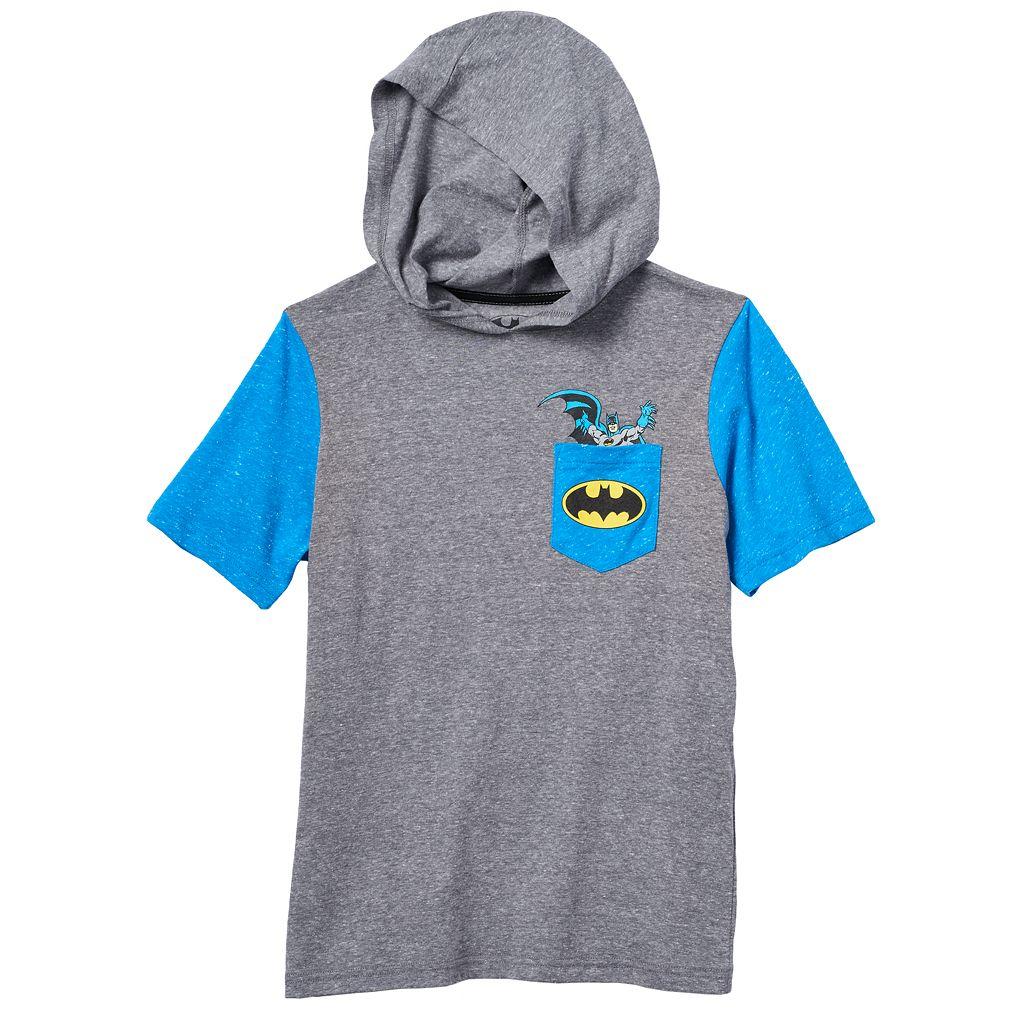 Boys 8-20 DC Comics Batman Raglan Hoodie