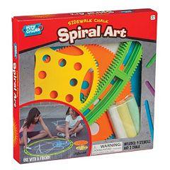 Toysmith Sidewalk Chalk Spiral Art Set