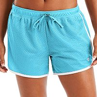 Women's Champion Contrast Trim Mesh Shorts