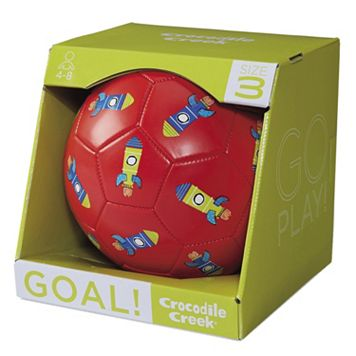 Crocodile Creek Rocket Size 3 Kids Soccer Ball