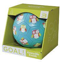 Crocodile Creek Owl Size 3 Kids Soccer Ball