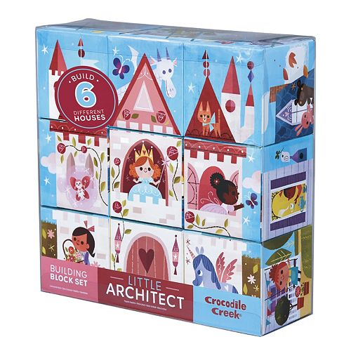 Crocodile Creek Little Architect Jumbo Block Mix & Match Stacking Set
