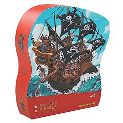 Crocodile Creek Pirates 36-pc. Jigsaw Floor Puzzle by
