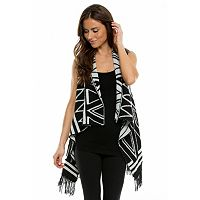 Women's E by Elan Geometric Reversible Vest
