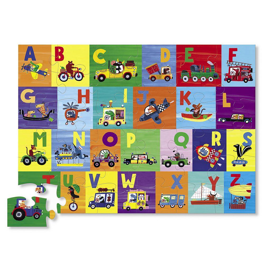 Crocodile Creek ABC Animals 36-pc. Jigsaw Floor Puzzle