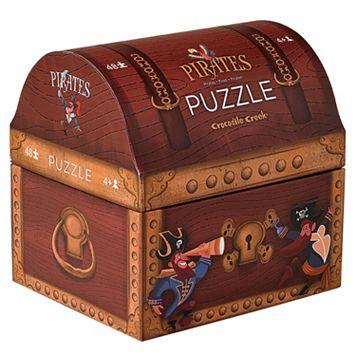 Crocodile Creek Pirate's Treasure Double Fun 48-pc. Jigsaw Puzzle