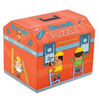 Crocodile Creek Little Builder Double Fun 48-pc. Jigsaw Puzzle
