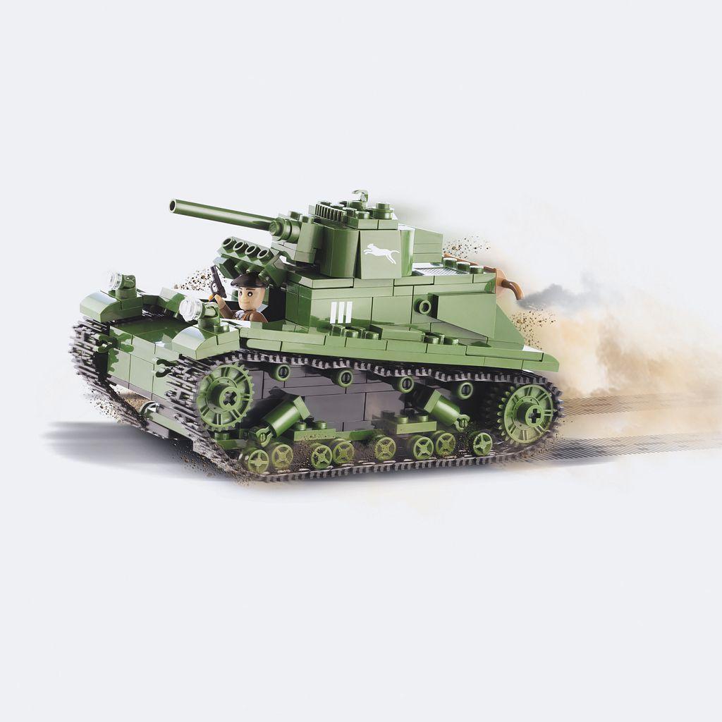 COBI Small Army Polish 7TP Tank Construction Blocks Building Kit