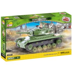COBI Small Army American M24 Chaffee Construction Blocks Building Kit