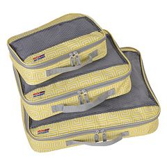 American Flyer Meander 3 pc Packing Cube Set