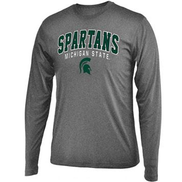 Men's Campus Heritage Michigan State Spartans Long-Sleeved Tee