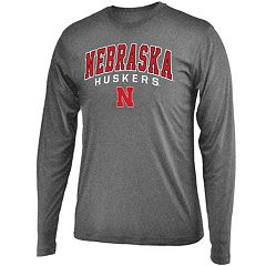 Men's Campus Heritage Nebraska Cornhuskers Long-Sleeved Tee