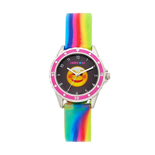 Limited Too Kids' Winking Face Emoji Watch