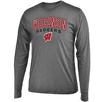 Men's Campus Heritage Wisconsin Badgers Long-Sleeved Tee