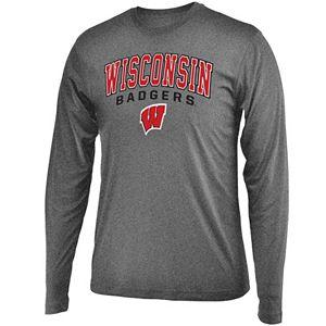 Men's Campus Heritage Wisconsin Badgers Long-Sleeved Tee