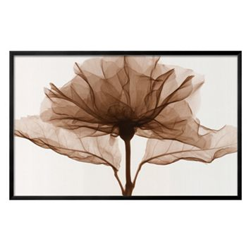 Art.com A Rose Black Framed Wall Art