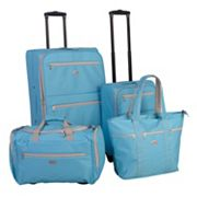 American Flyer Perfect 4 pc Luggage Set