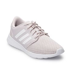 check out 5fb2e ae007 adidas Cloudfoam QT Racer Women s Shoes. Gray White Black ...