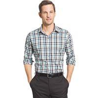 Men's Van Heusen Flex Slim-Fit Stretch Plaid Button-Down Shirt