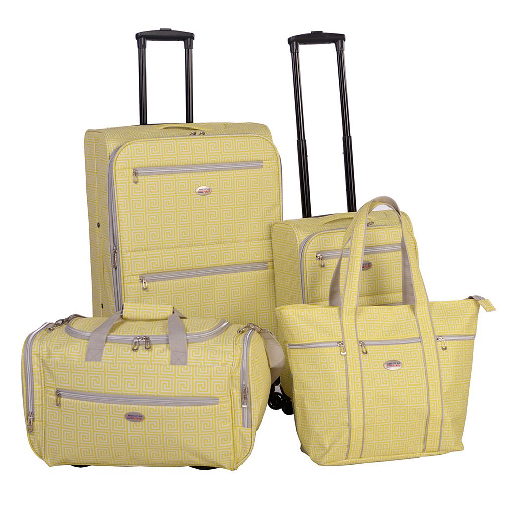 American Flyer Meander 4-Piece Luggage Set
