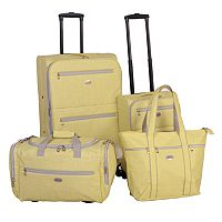 American Flyer Meander 4 pc Luggage Set