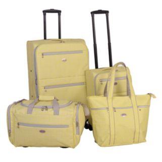 American Flyer Meander 4-Piece Luggage Set