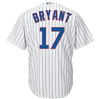 Big & Tall Majestic Chicago Cubs Kris Bryant Cool Base Replica MLB Jersey